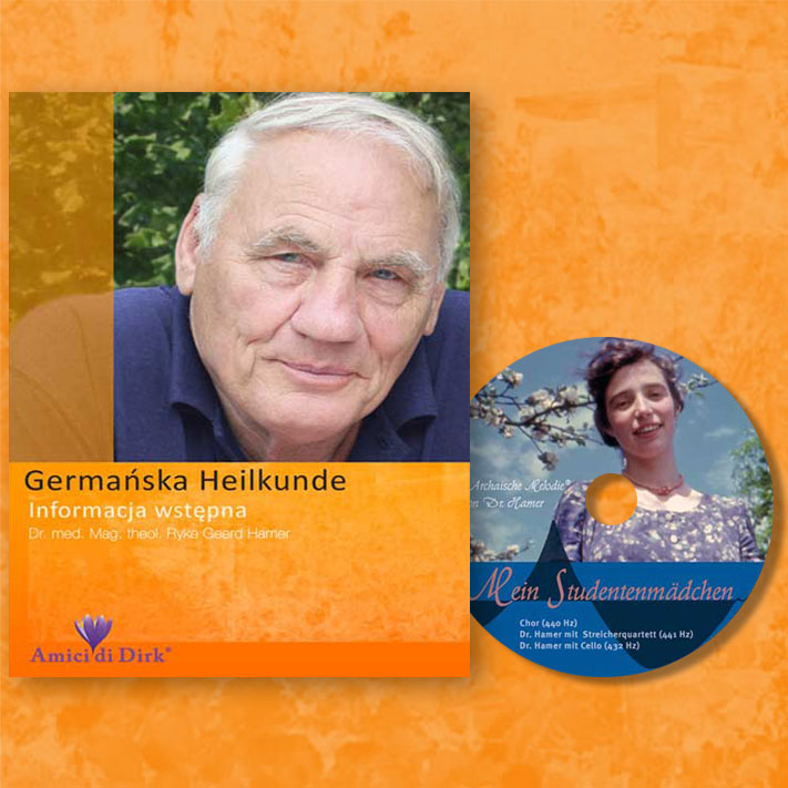 Dr. Ryke Geerd Hamer. Germańska Heilkunde - Informacja wstępna